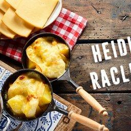 Feldsalat, französischer Raclette Käse, Heidis Küfer, Ihringen, Raclette