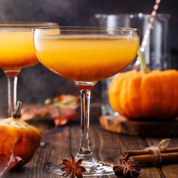 Herbstcocktail, Heidis Küfer, Ihringen, Cocktail, Pumpkin spice spritz